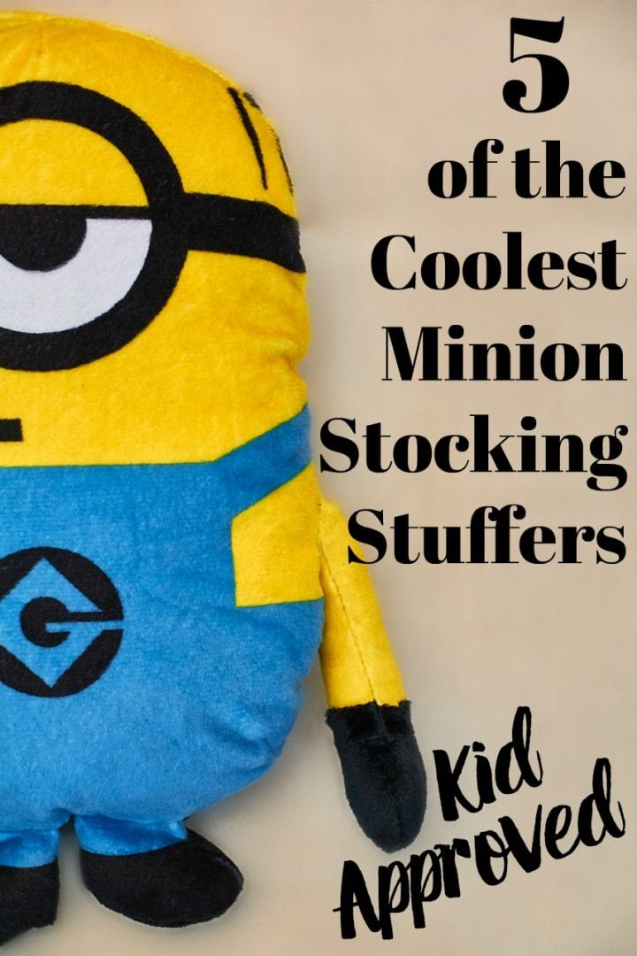 These kid-approved Minion stocking stuffers will excite any kid.
