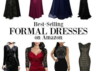 10 Best-Selling Women's Formal Dresses on Amazon