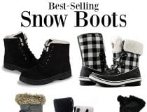 10 Best-Selling Women's Snow Boots on Amazon