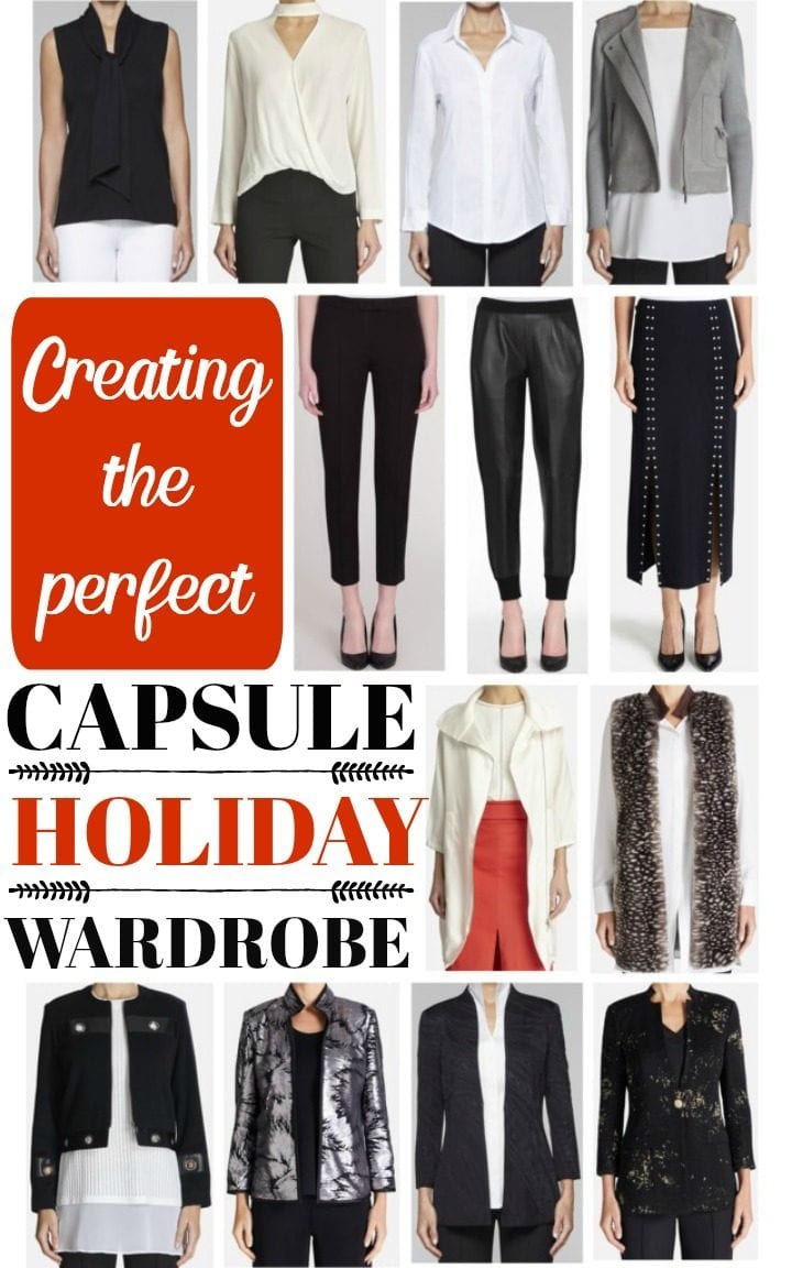 Creating the Perfect Capsule Holiday Wardrobe
