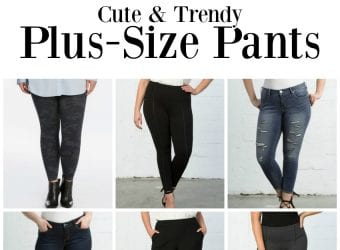 Cute & Trendy Plus Size Pants
