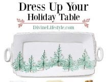 Dress Up Your Holiday Table