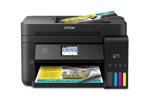 Epson Workforce ET-4750 EcoTank Printer