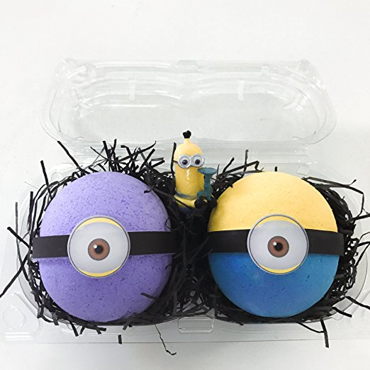 These bath bombs make the perfect Minion stocking stuffers for a little girl.