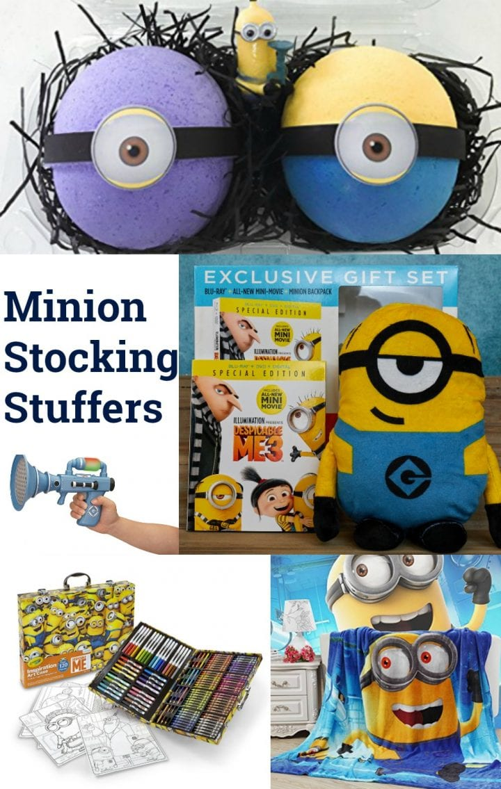 Check out all the cool Minion stocking stuffers you can find at Walmart.