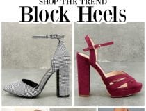 Shop the Trend: Block Heels