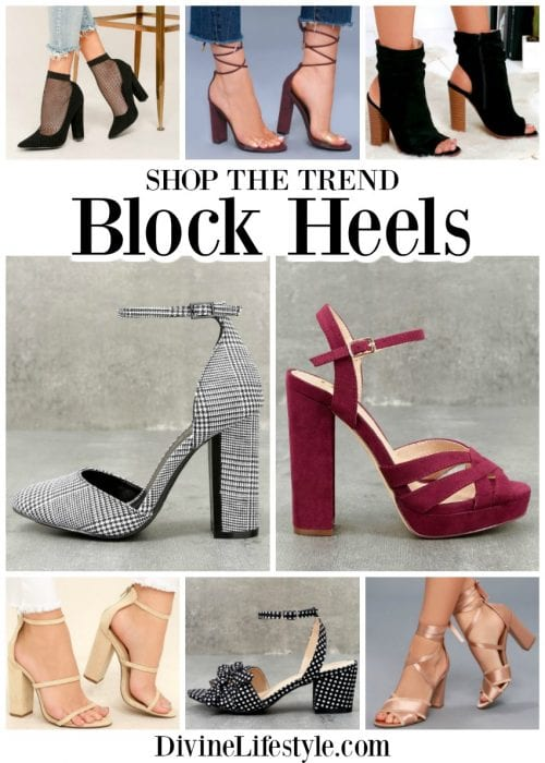f55759f583f Shop the Trend Block Heels Women Trendy Shoes