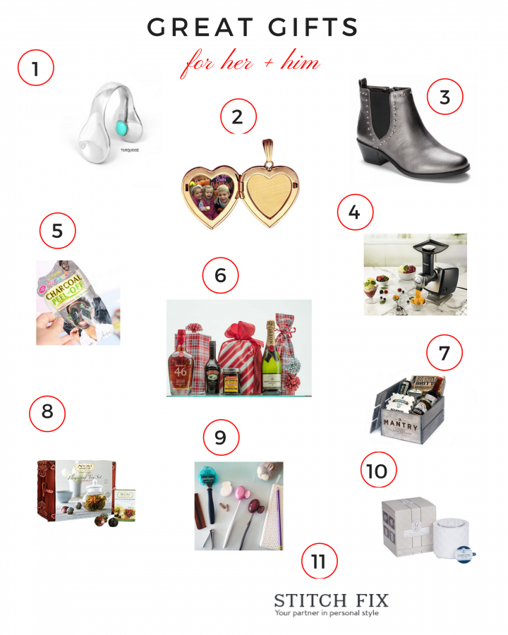 Great Gifts For Her And Him Christmas Holiday Gift Guide