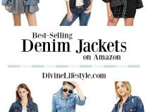 10 Best-Selling Women's Denim Jackets on Amazon