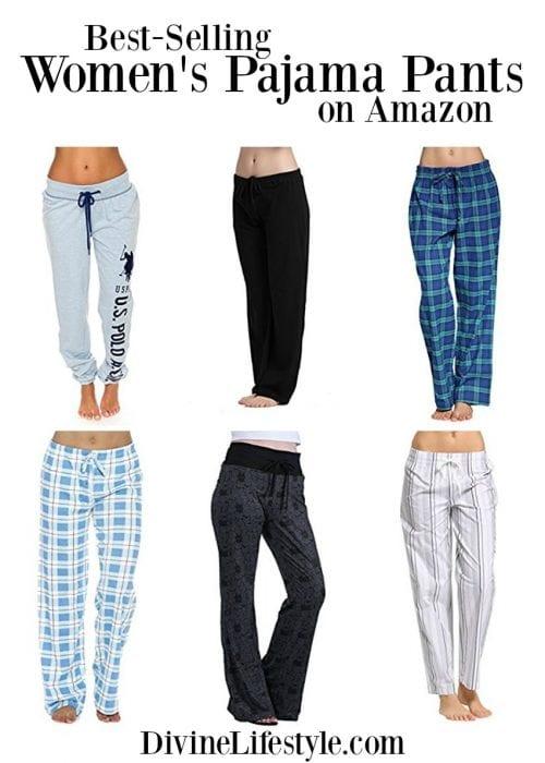 c7f9cf6ef79 Pajama Bottoms for Women Sleep Pajamas Amazon