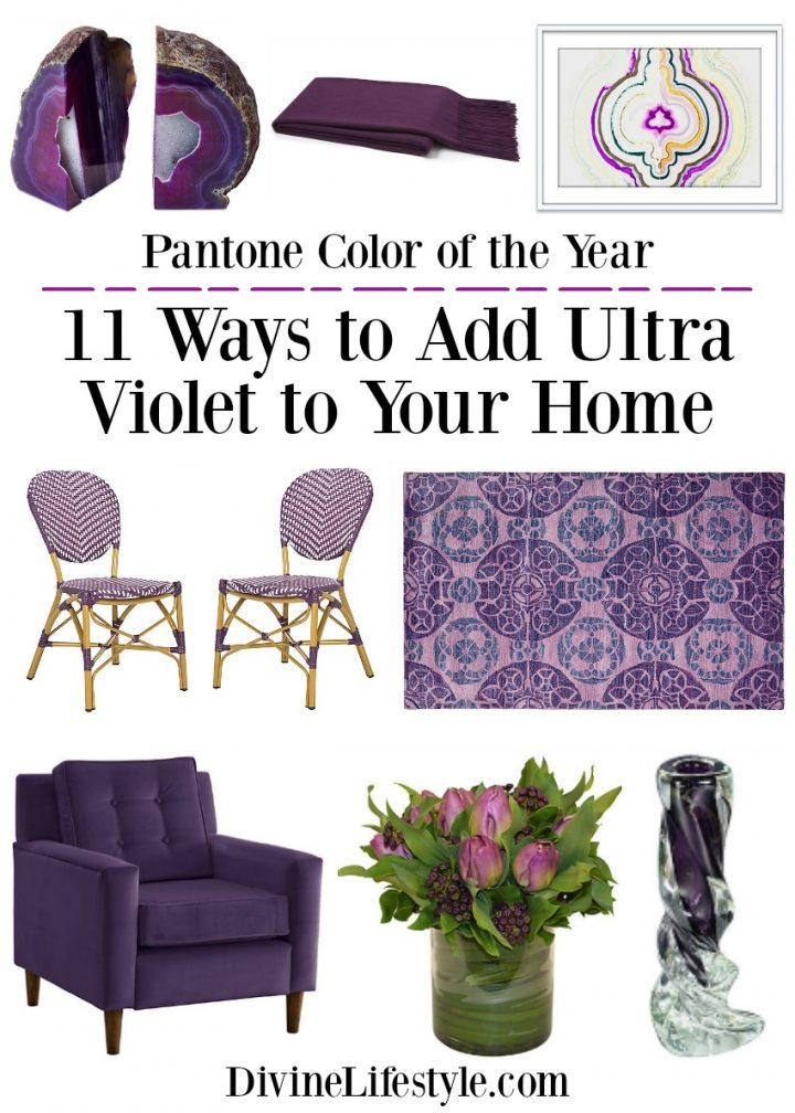 Ultra Violet: 11 Ways to Add Pantone's Color of the Year to Your Home