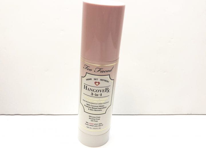 Too Faced HangoveRX 3-in-1 Replenishing Primer and Setting Spray