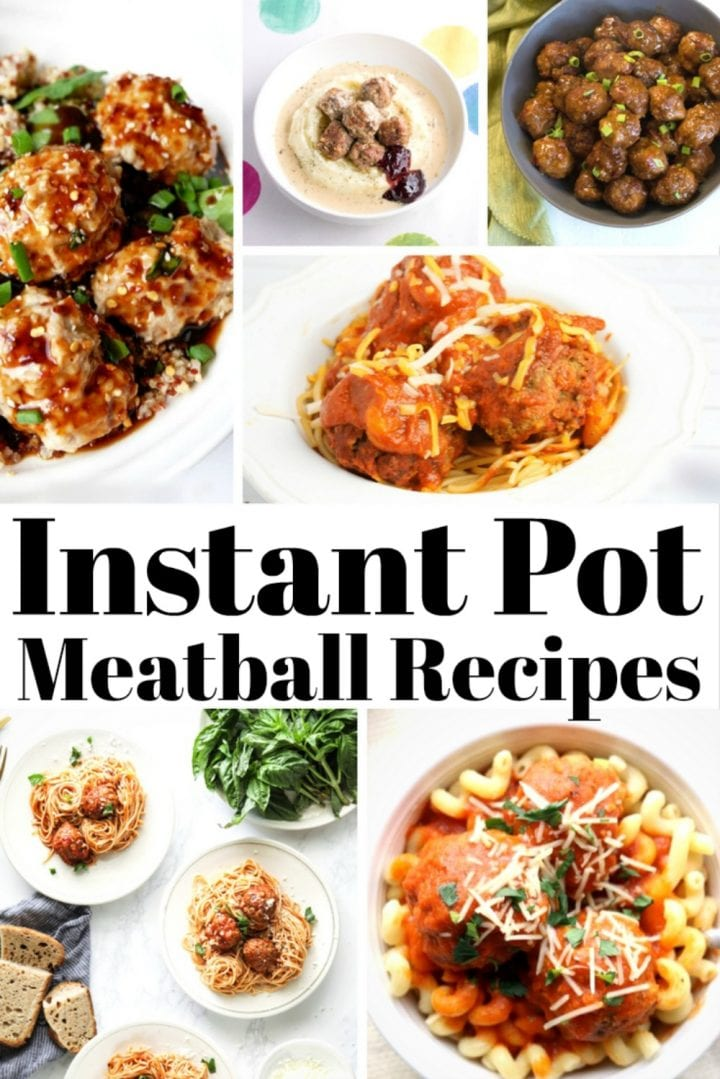 20 Instant Pot meatball recipes.