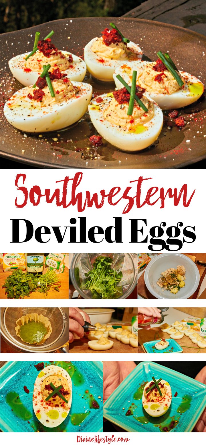 Southwestern Deviled Eggs Recipe with Chorizo