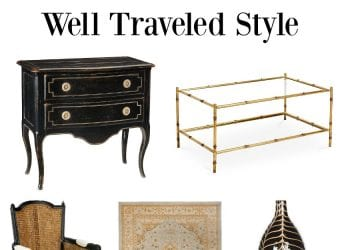 Well Traveled Style for Your Home