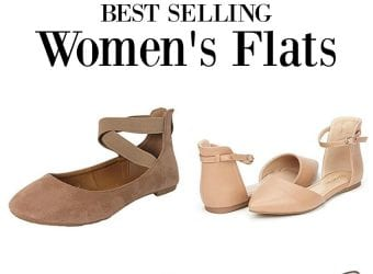 10 Best-Selling Women's Flats on Amazon