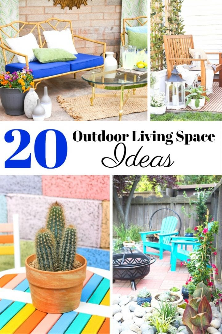 20 DIY Outdoor Living Space Ideas