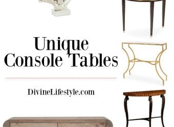Console Tables: Make a Great First Impression with One of these in Your Entryway