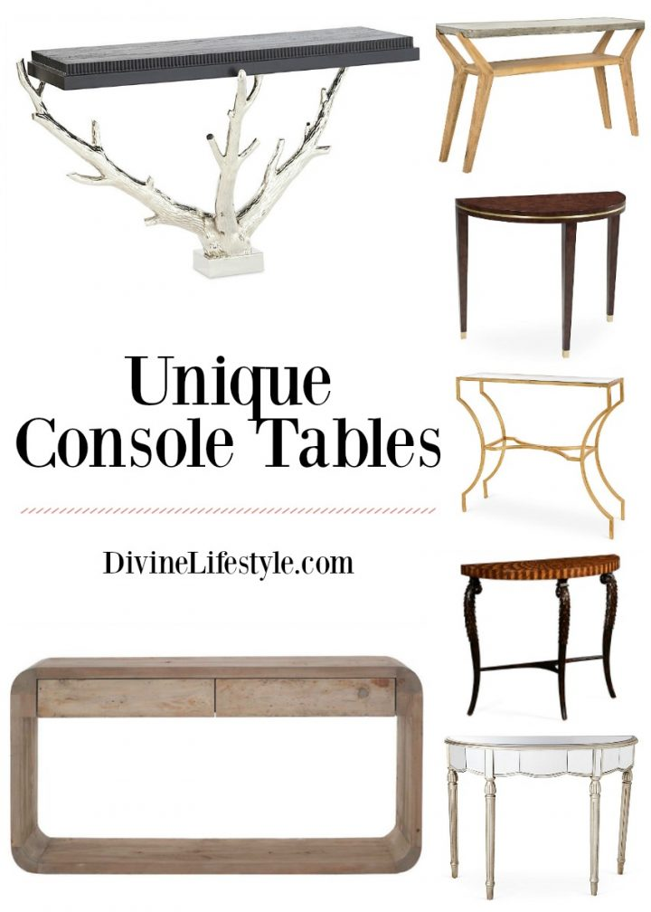 Entryway Console Tables