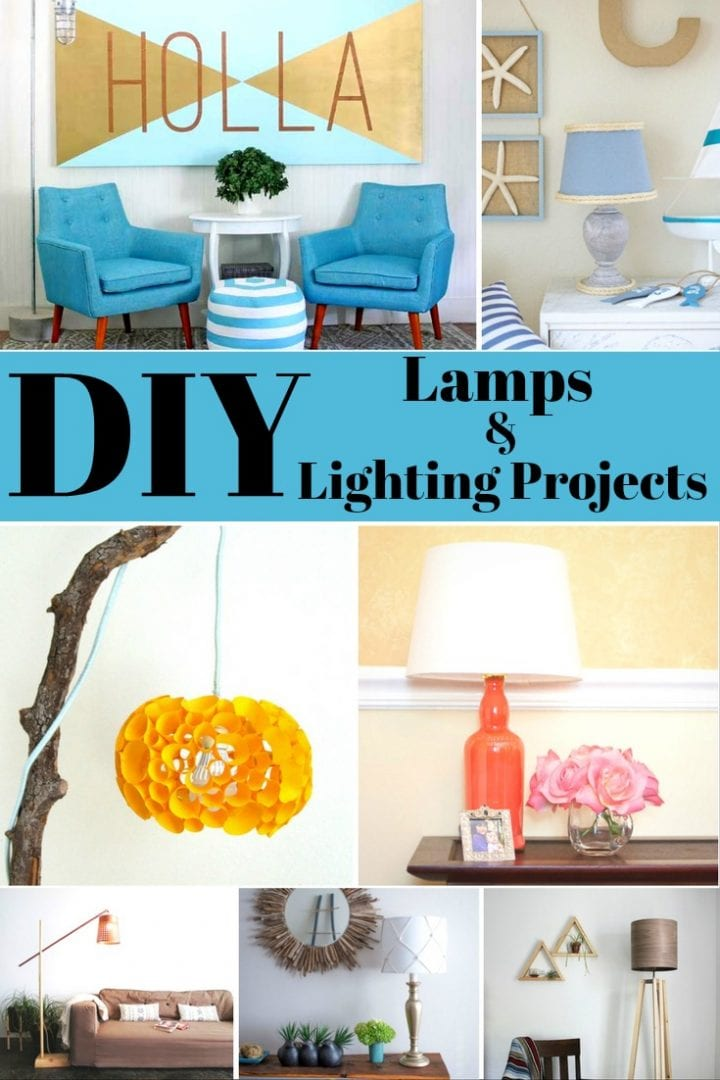20 DIY Lamps and Lighting Projects
