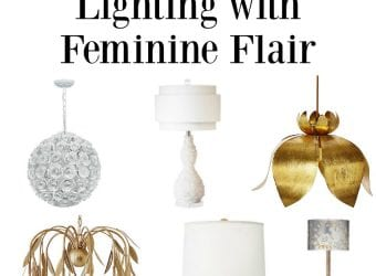 Lighting with Feminine Flair