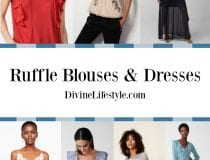 Ruffle Blouses and Dresses