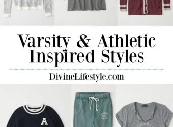 Women's Varsity & Athletic-Inspired Styles