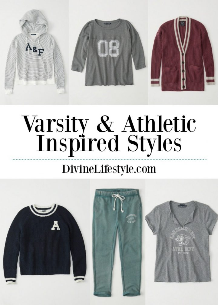 Women's Varsity Athletic Inspired Styles