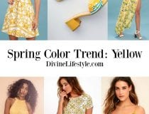 Yellow- Shop this Spring Color Trend