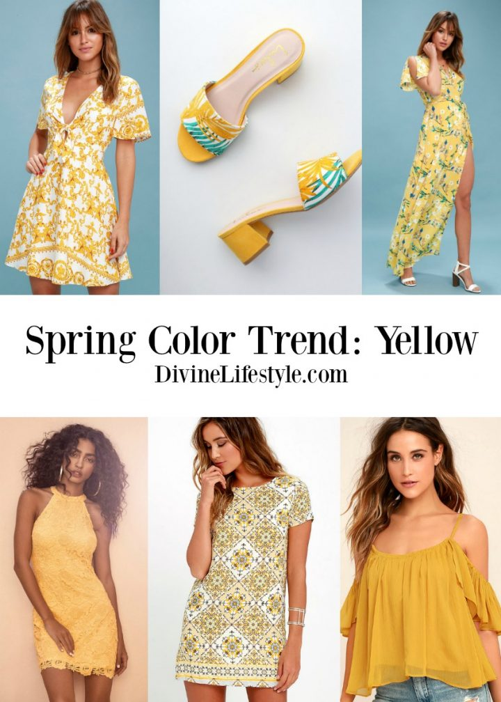 Spring Dresses Colors