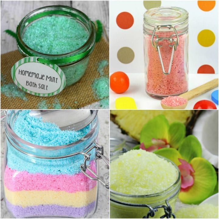 15 DIY Bath Salts