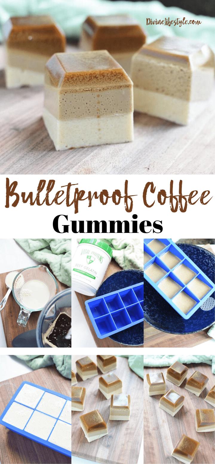 Layered Bulletproof Coffee Gummies