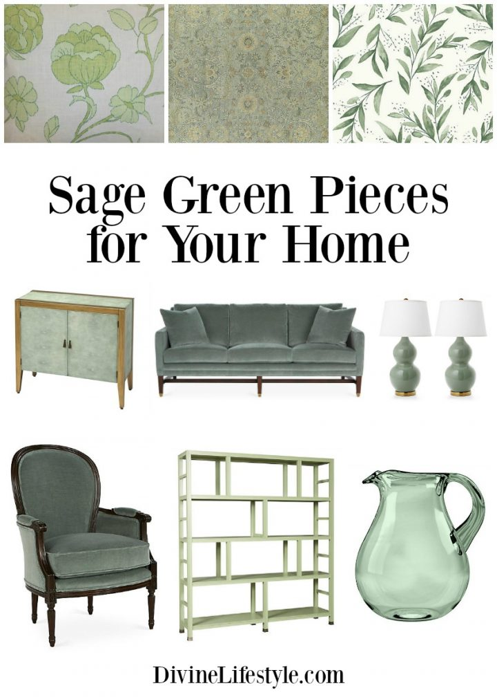 Color Trend: Sage Green Pieces for Your Home