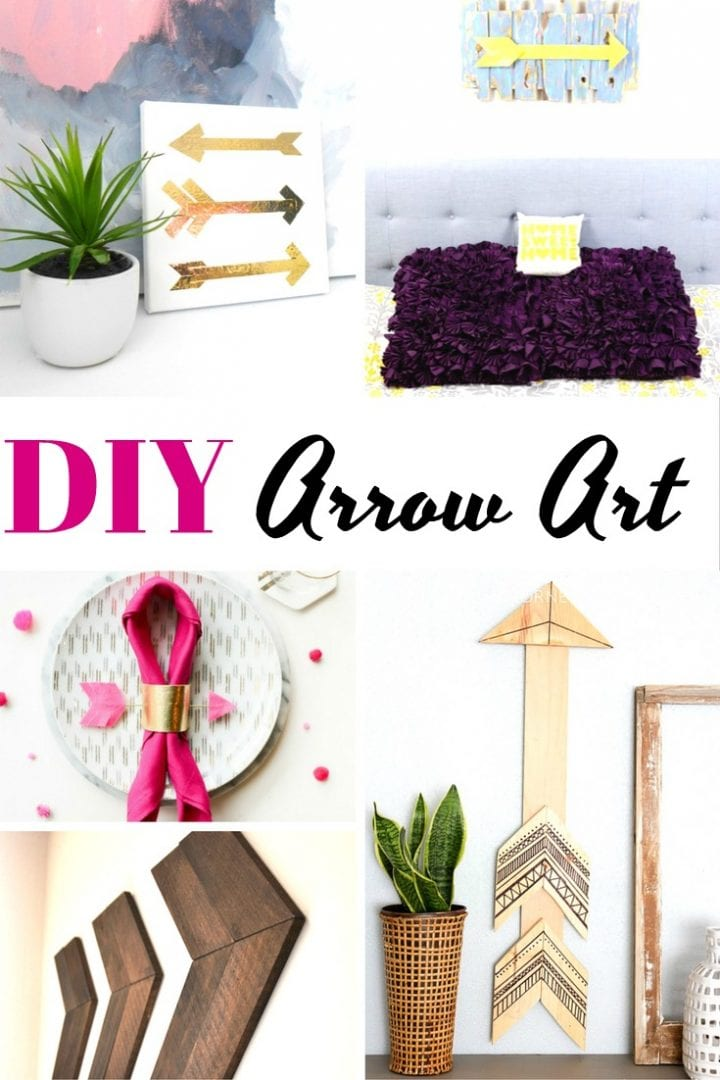 DIY Arrow Art
