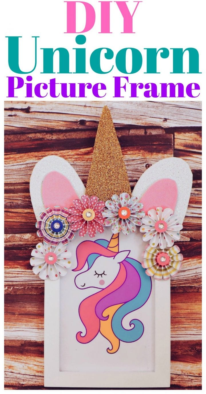DIY Unicorn Picture Frame