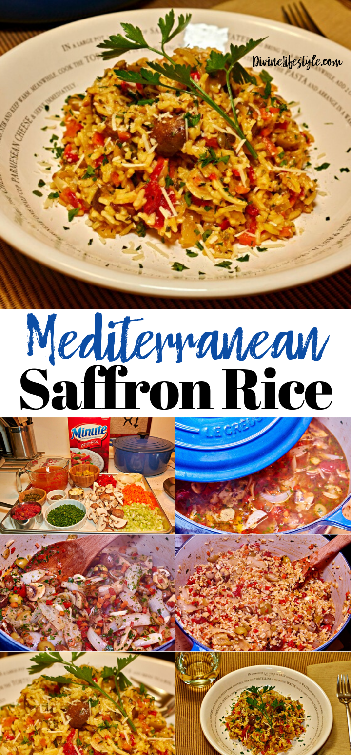 Mediterranean Saffron Rice Recipe