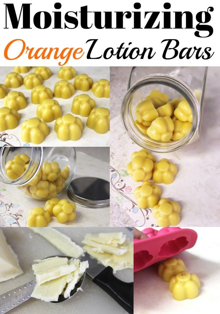Moisturizing Orange Lotion Bars