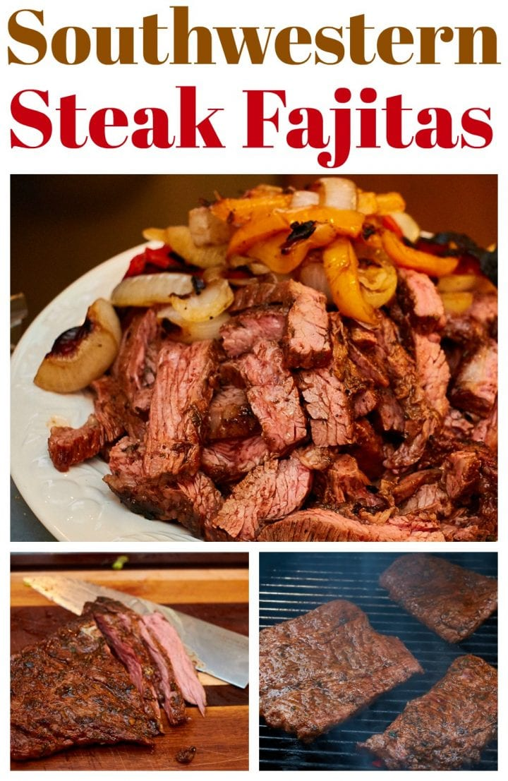 Southwestern Steak Fajitas Recipe