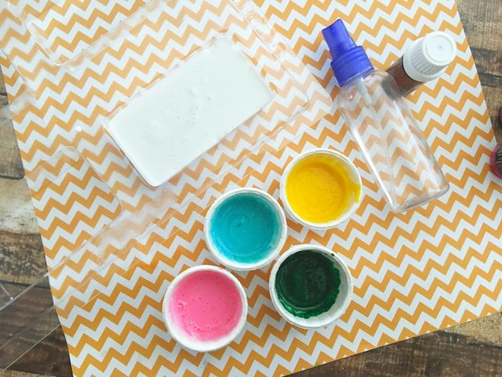 Easy DIY Tie-Dye Soap