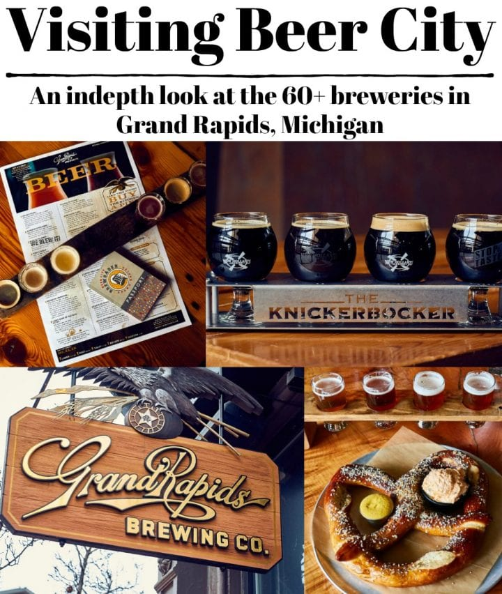Visiting Beer City in Grand Rapids Michigan is a delight for any beer lover. Explore over 60 breweries in the area!