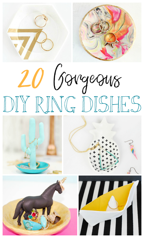 20 DIY Ring Dishes