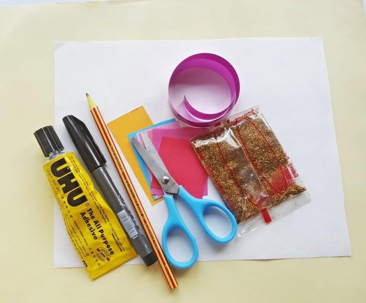 DIY Unicorn Gift Bag Supplies Needed
