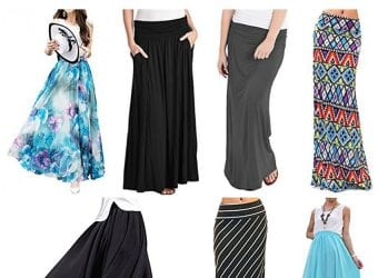 Best-Selling Maxi Skirts on Amazon