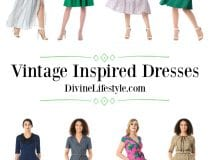 Vintage Inspired Dresses for Spring and Summer