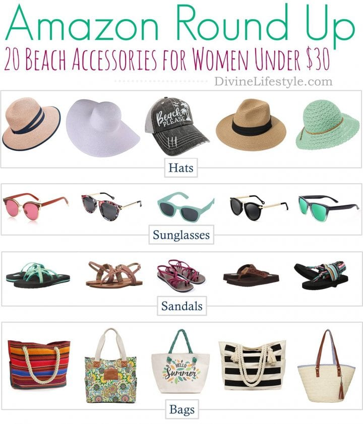 20 Beach Accessories for Women Under $30