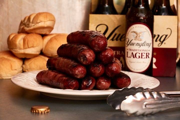 Fire Up Summer with Smithfield Craft Collection Yuengling Traditional Lager Bratwurst