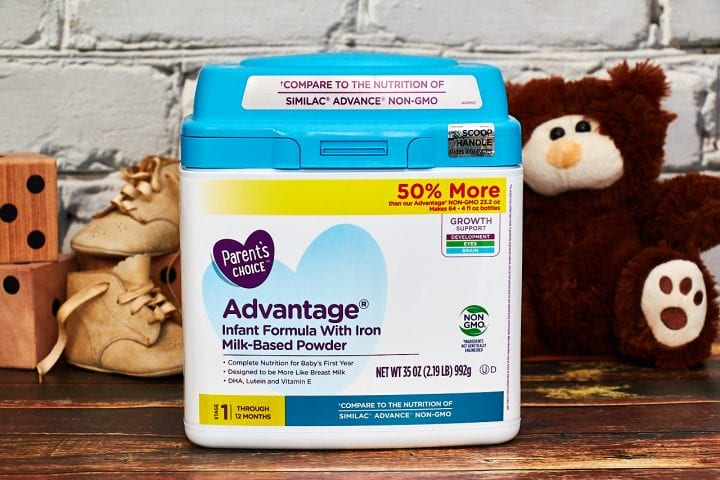 Smart Choices for Non-GMO Infant Formula #MomsKnowBestWM