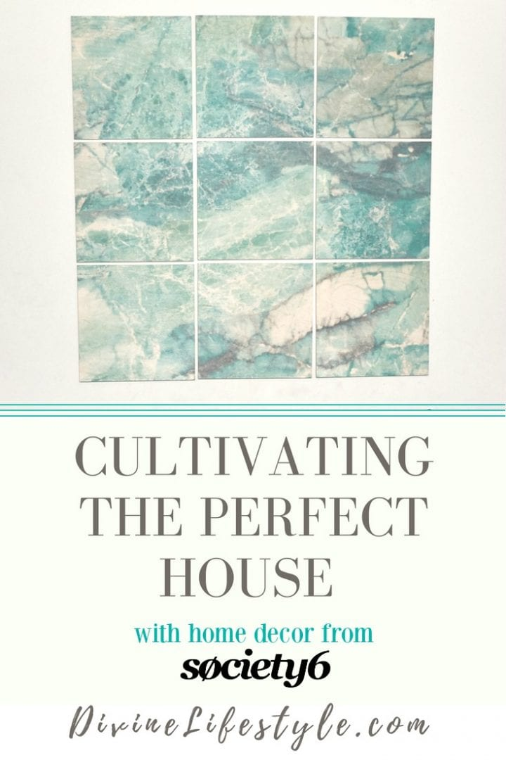 Cultivating the perfect house with home decor from society6