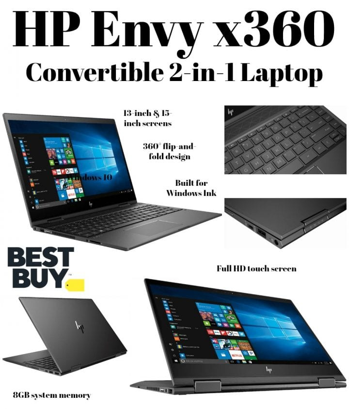 HP Envy x360 Convertible 2-in-1 Laptops at Best Buy