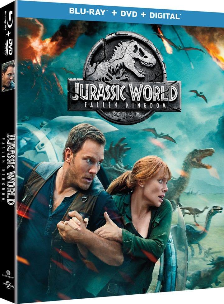 Jurassic World: Fallen Kingdom on Digital and Blu-ray this September #FallenKingdom #TeamJurassic
